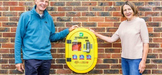 New Upper Beeding defibrillator is installed